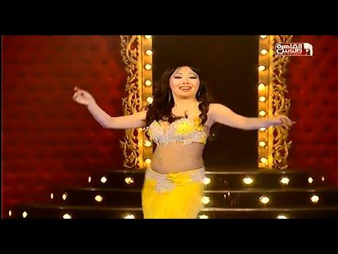 بالفيديو رقص ملك اليابانية في برنامج الراقصة على قناة القاهرة والناس 2014