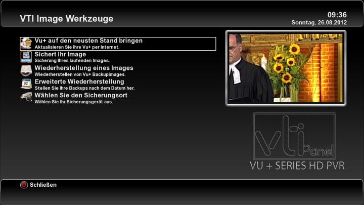 New VTI - v 4.2.0 HBBTV Solo Vu+ Team Image