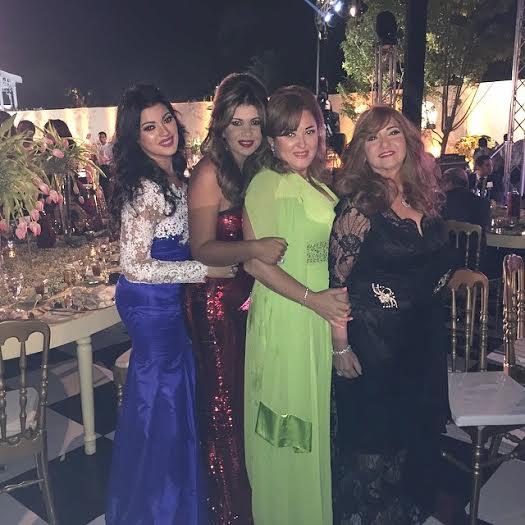 صور حفل زفاف هديل ابنة صفاء أبو السعود , صور نجمات الفن في حفل زفاف ابنة صفاء أبو السعود