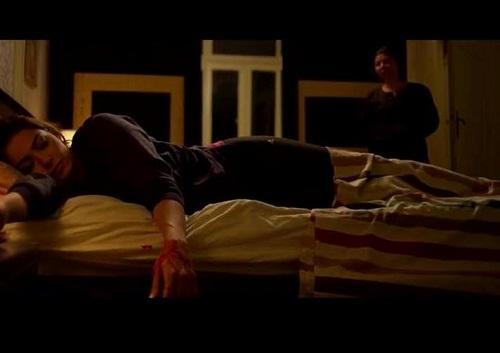 بالصور مشهد انتحار إنجي أباظة في مسلسل سيرة الحب 2015 , صور إنجي أباظة 2015