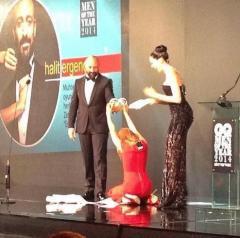 صور السلطانة هيام والسلطان سليمان في حفل مجلة gq رجل العام