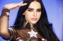 صور ليال عبود بزي الجيش اللبناني في كليب خاطرو كسرنا , صور كليب خاطرو كسرنا 2014