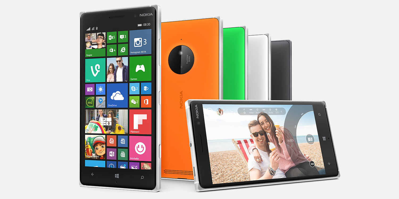 ��� ���� Nokia Lumia 830 �� ���