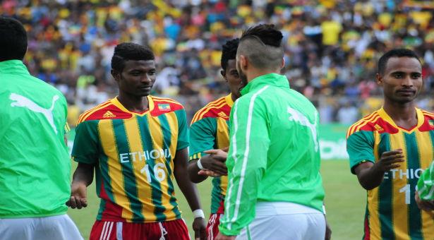 تشكيلة المنتخب الجزائري امام اثيوبيا