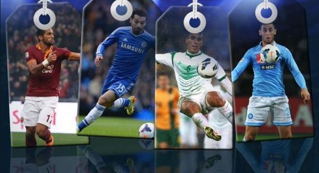استفتاء افضل لاعب عربي 2014 حسب صحيفة الهداف الجزائرية