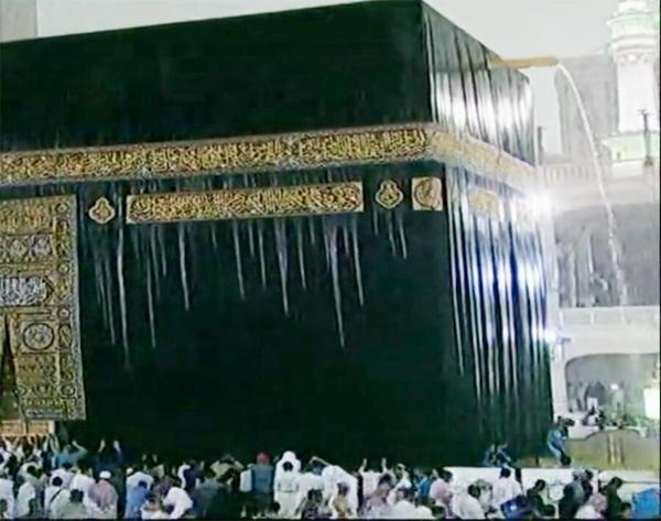 صور تساقط الأمطار في مكة المكرمة اليوم الاحد 16-11-2014