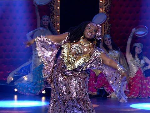 بالفيديو رقص ماياشا على اغنية يا ليلة العيد في برنامج الراقصة 2014 على قناة القاهرة والناس