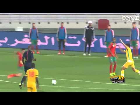 يوتيوب اهداف مباراة المغرب وزمبابوي اليوم الاحد 16-11-2014