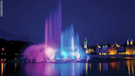 بالصور أجمل 15 نافورة في العالم 2015
