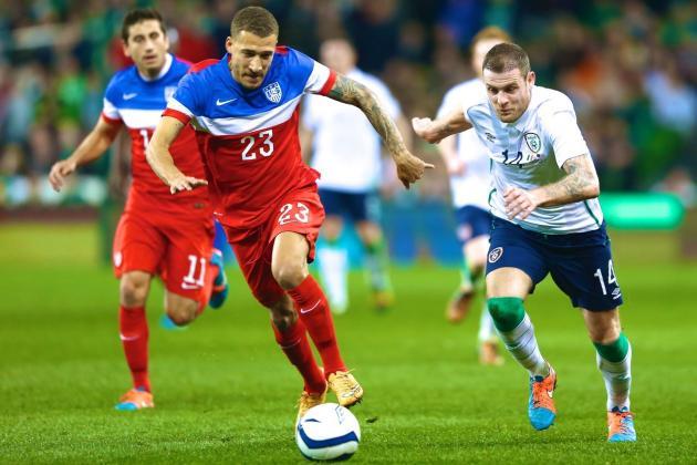 مباراة ايرلندا وامريكا اليوم الثلاثاء