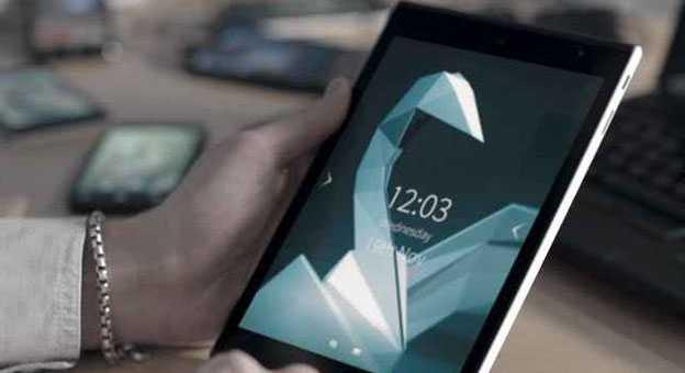 ������� ���� Jolla Tablet ����� SailFish OS 2.0