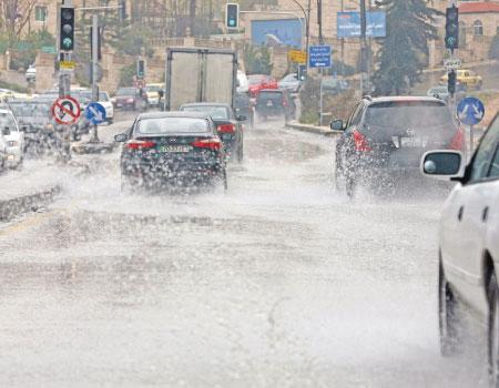 حالة الطقس في الاردن اليوم السبت 22-11-2014