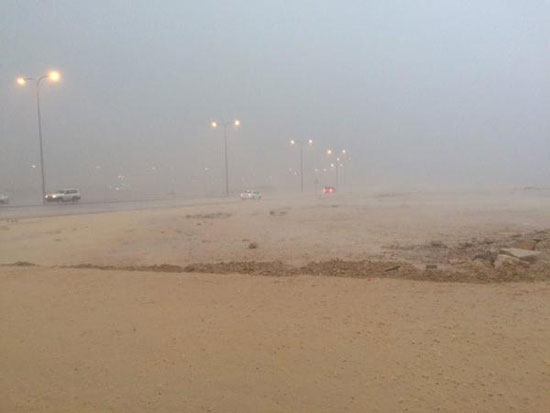صور امطار وسيول الرياض اليوم الاحد 23-11-2014