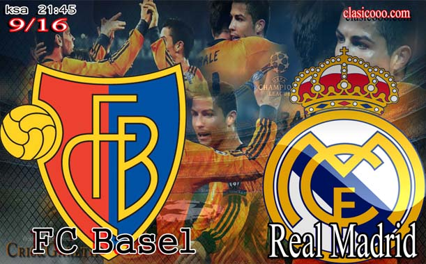 يوتيوب مشاهدة أهداف مباراة ريال مدريد وبازل اليوم الاربعاء 26-11-2014