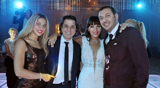 صور حفل زفاف الإعلامية ريهام الشيخ 2014 , صور الفنانين في حفل زفاف ريهام الشيخ 2014