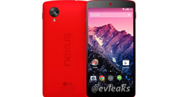 صور جديدة مسربة لهاتف Nexus 5 باللون الاحمر 2014