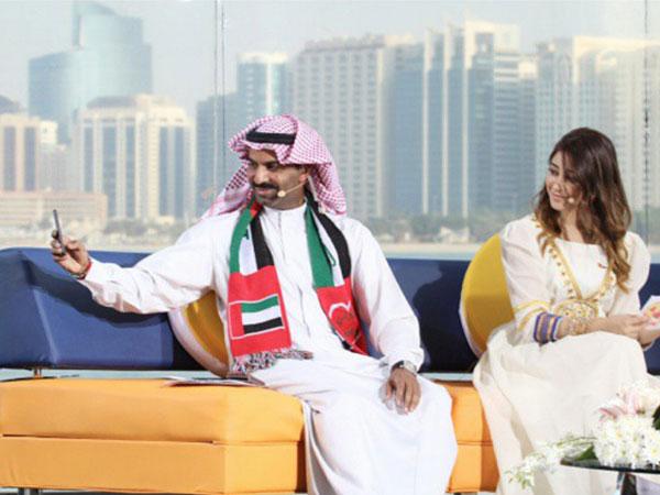 صور أسيل عمران مع زوجها خالد الشاعر 2015