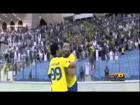 يوتيوب اهداف مباراة النصر والهلال اليوم 13-12-2014