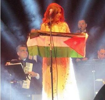 صور حفلة ماجدة الرومي في مسرح الأرينا بالأردن 2014