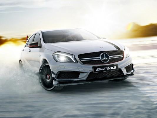 ��� ����� ������ A45 AMG Edition 1 �� ������ ������� 2015