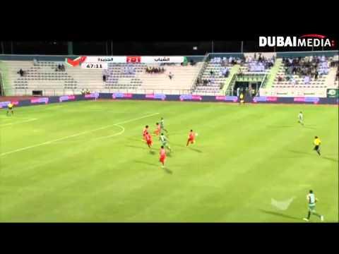 يوتيوب اهداف مباراة الشباب والجزيرة اليوم 14-12-2014