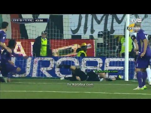 يوتيوب اهداف مباراة فيورنتينا وتشيزينا اليوم 14-12-2014