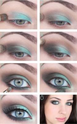 ������ ����� ��� ����� ����� ������ ��������� 2015 Smoky Makeup