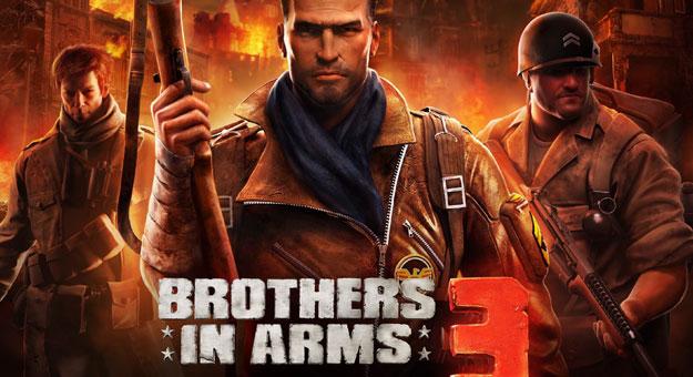 تحميل لعبة Brothers in Arms 3 لهواتف اندرويد 2015