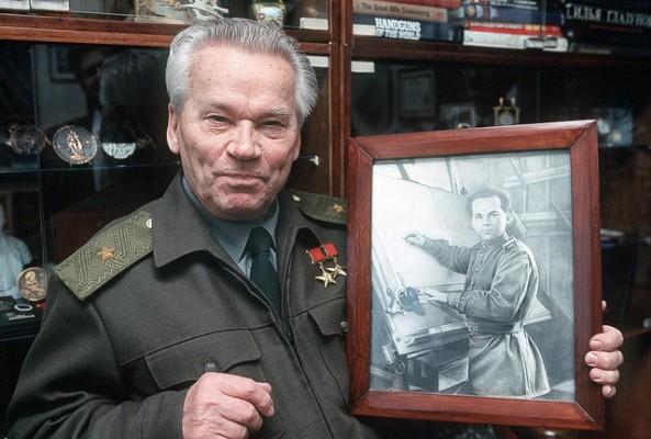 نتيجة بحث الصور عن ميخائيل كلاشينكوف