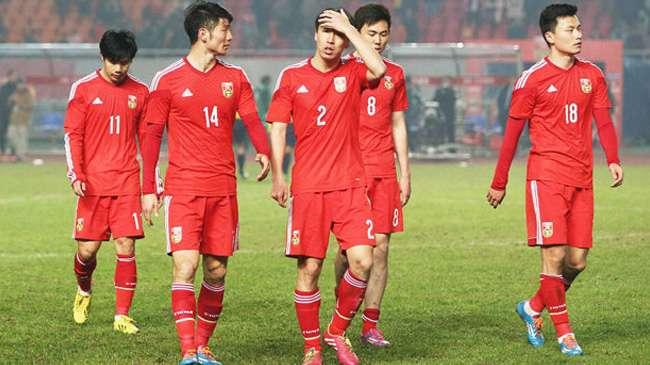 رسميا تشكيلة المنتخب الصيني اسيا