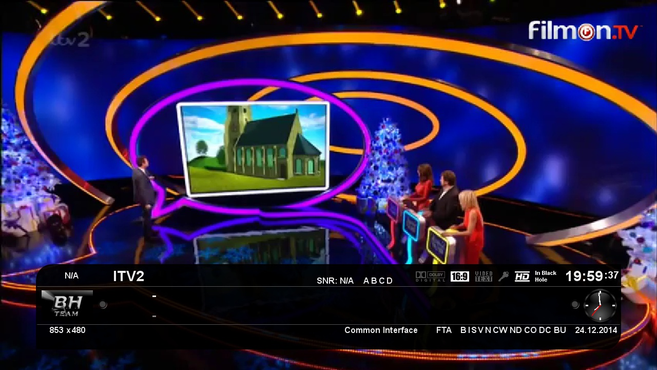 IPTV-Bouquet channels list update 24/12/2014