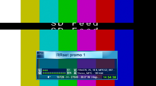 ����� ���� ��� RRsat promo 1  ��� ��� Hispasat 1D/1E @ 30� West
