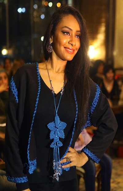 صور أزياء وفساتين المصممة مارلين الأطرش لسنة 2015