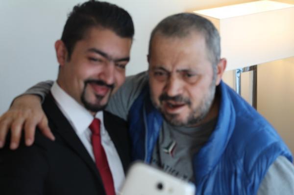 صور وصول جورج وسوف الى دبي لاحياء حفلة رأس السنة 2015