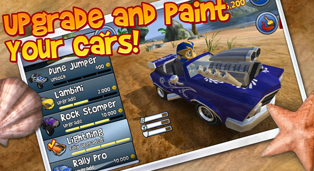 ���� ��� ����� ���� Beach Buggy Racing 2014