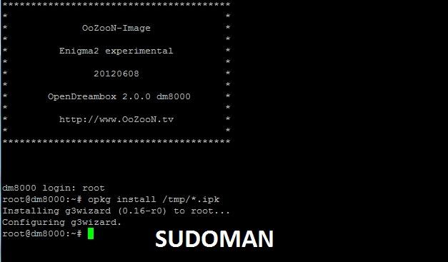OoZooN OE2.0 GP3.2 DM8000HD BKP BY SUDOMAN 2012.06.09