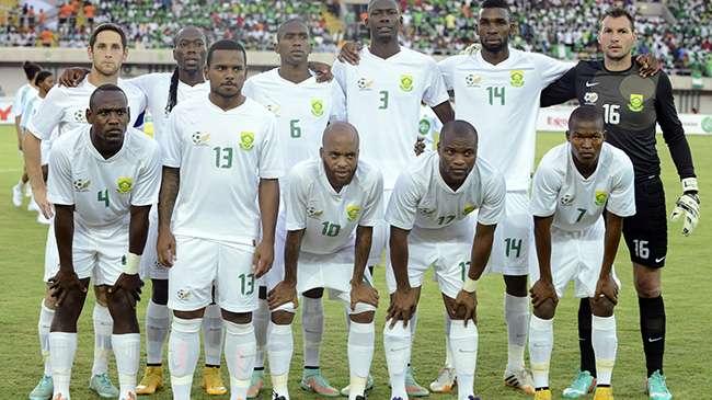 قائمة منتخب جنوب أفريقيا أفريقيا