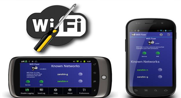 ���� ��� ����� ����� Wifi Fixer ������ ���� ����� ���