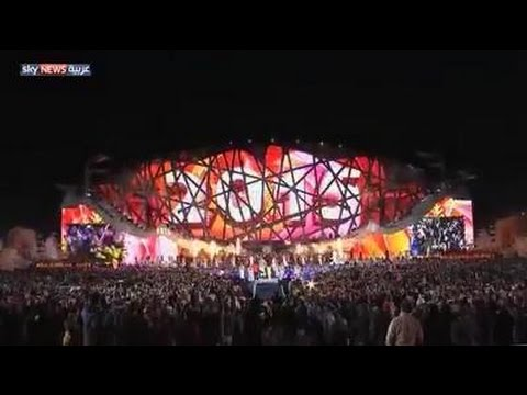 بالفيديو شاهد احتفال الصين بليلة رأس السنة الميلادية 2015