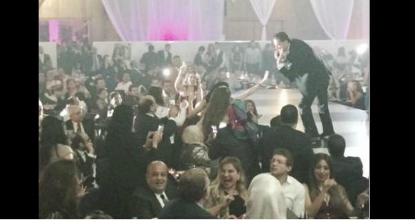 صور حفلة راغب علامة ومايا دياب في ليلة رأس السنة 2015 في القاهرة