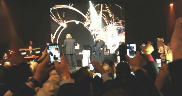 صور حفلة جورج وسوف في ليلة رأس السنة 2015