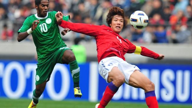 موعد وتوقيت مباراة السعودية وكوريا الجنوبية اليوم 4-1-2015