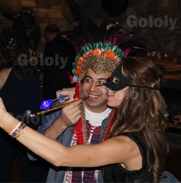 صور أنابيلا هلال مع زوجها في منطقة فاريا 2015