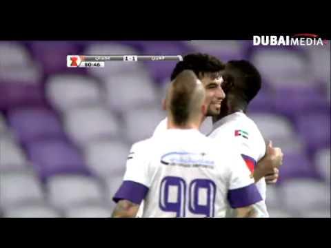 يوتيوب اهداف مباراة عجمان والعين اليوم الاحد 4-1-2015
