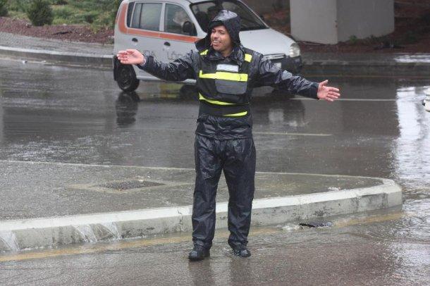 الأمن العام يحذر من عاصفة هدى الثلجية 2015