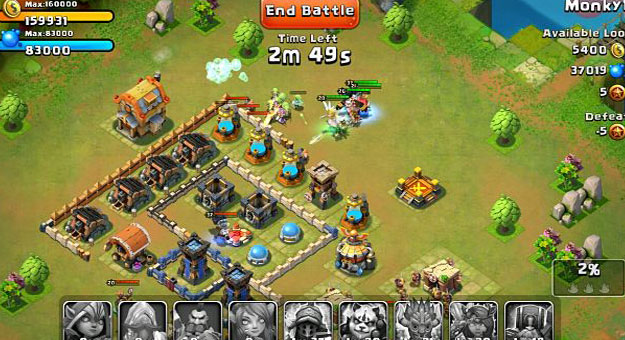 ���� ��� ����� ���� Castle Clash