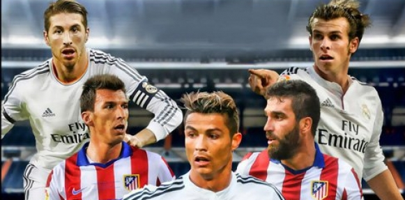 رسميا تشكيلة مباراة أتلتيكو مدريد وريال مدريد اليوم 7-1-2015