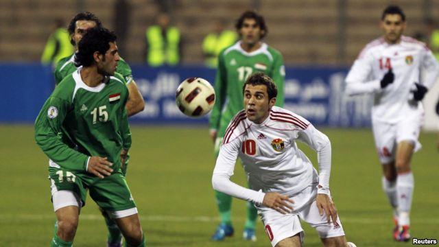 مباشرة موعد وتوقيت مباراة العراق والأردن اليوم الاثنين 12-1-2015