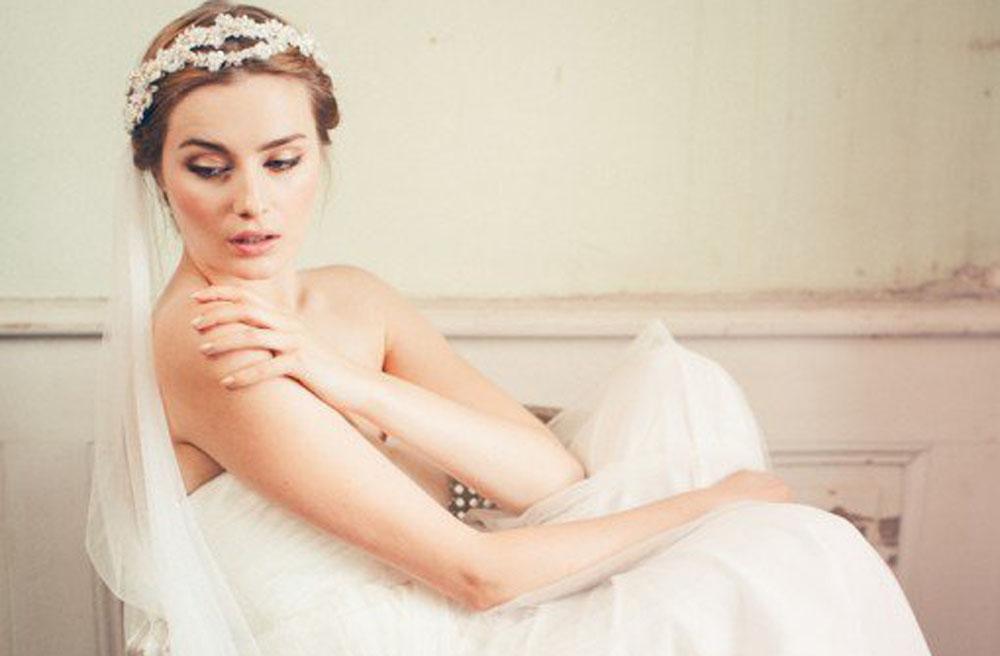 صور إكسسوارات شعر العروس موضة 2015
