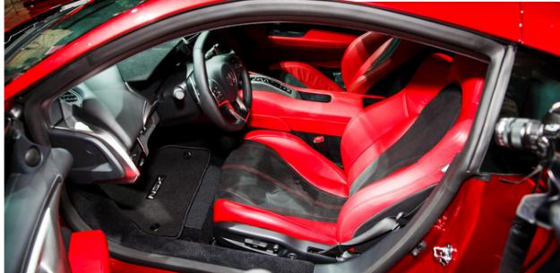 ��� �������� ����� ����� �������� Acura NSX
